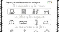 Colección de unas sencillas actividades para trabajar la lectoescritura de los más pequeños.