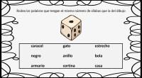A continuación os proponemos una actividad especialmente útil para trabajar la dislexia, que consiste en rodear de una lista de palabras aquellas que tengan las mismas sílabas que el dibujo […]