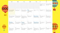 Os dejamos este sencillo calendario con una serie de actividades para trabajar con los más pequeños, relacionadas con la lectura.
