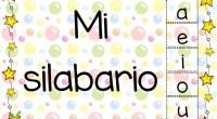 Nos vendrá genial este completo silabario para trabajar con nuestros alumnos en clase y también decorar el aula.
