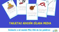 Actividad creada por Irene Ocaña creadora del blogasomateamimundomasalladelaspalabras,se trata de unas actividades para trabajar la Conciencia Silábica pero realizando el ejercicio inverso,adición de sílaba media. SIGUE SU PERFIL DE INSTAGRAM […]