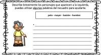 Hoy os proponemos una divertida actividad para trabajar la escritura creativa a través de descripciones de dibujos de personas, para facilitar el ejercicio se ofrecen algunas palabras que puedes utilizar […]