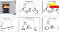 Con estas actividades que os presentamos nuestros alumnos deben de contar la cantidad de objetos que se les presenta y una vez que los han contado deben de colorear tantas […]