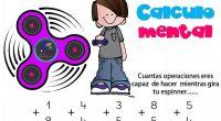 Cálculo Mental fichas con Espinners Los spinnners han llegado a nuestras clases y casas y desde orientación andújar hemos pensado utilizarlos de forma didáctica con el diseño de estas fichas […]