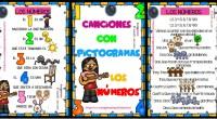 LOS NÚMEROS en canciones con pictogramas para Educación Infantil y Preescolar