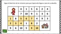 Hoy os traemos esta divertida actividad de numeración para practicar los números del 1 al 10, a través de laberintos de números.