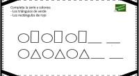 Os presentamos unas nuevas fichas de razonamiento lógico con figuras geométricas.En ellas nuestros alumnos deben de continuar la serie como en el modelo y posteriormente colorear las figuras según las […]