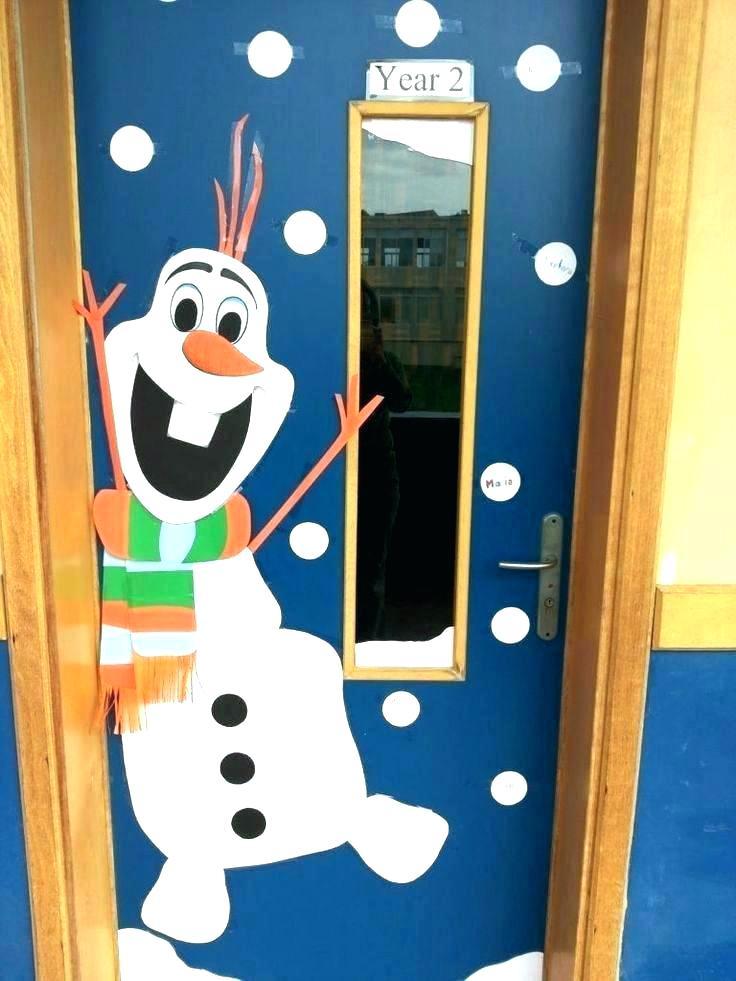 Ideas Para Decorar Puertas En Navidad.Decorar La Puerta De Tu Clase O Salon En Navidad 101 Ideas