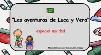 Divertidos textos de comprensión lectora en la que los personajes protagonistas son Luca y Vera. Se trata de pequeñas lecturas relacionadas con la navidad y sobre los que se realizaran […]