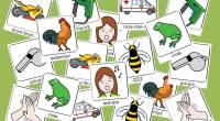El material que os dejo hoy está formado por tarjetas, a través de las cuales trabajamos lasonomatopeyas. Con las onomatopeyas, además de aprender los sonidos de los animales, transportes, producidos […]