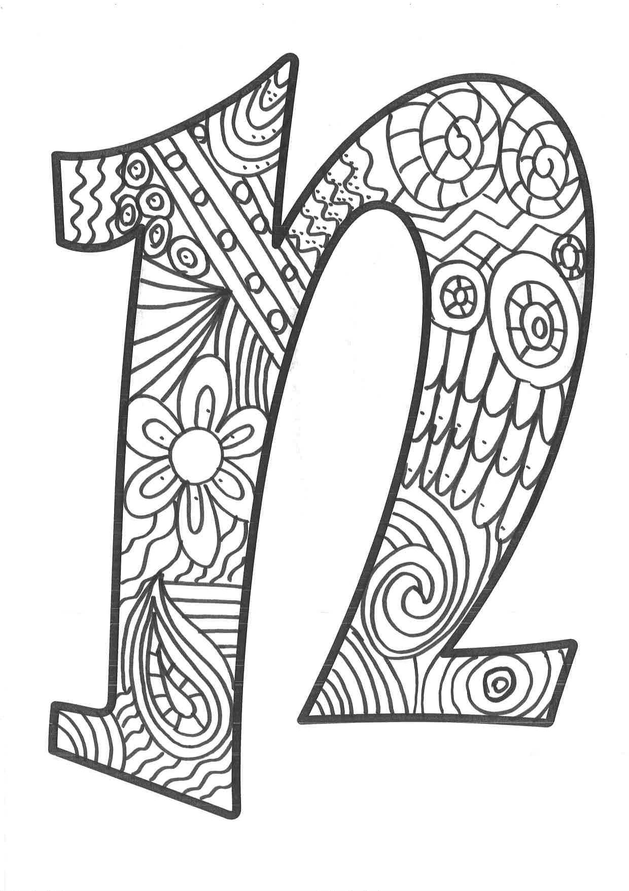 De Moldes N Imprimir Para Letras