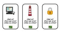Os hemos preparado estas sencillas actividades en las que nuestros alumnos deben de categorizar diferentes imágenes de un objeto indicando ¿Qué es?, ¿Para qué sirve? y ¿Cómo se utiliza?.