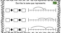 La siguiente actividad matemática está pensada para aprender la representación en la recta de sumas sencillas.