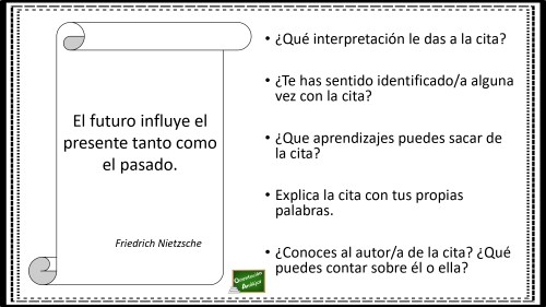 Aprendemos A Analizar Frases Célebres En La Clase De Lengua