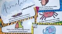 Conjunto de rimas con las letras del abecedario. Cada letra se corresponde con un animal (hecho a mano). Divertido y estimulante, tanto para lectura como para memoria. Andrea Marqués, creadora […]