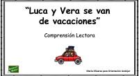 Os traemos de nuevo las divertidas historias de Luca y Vera, una serie de lecturas breves basadas en las aventuras de nuestros peques, cuya comprensión es necesaria para responder a […]