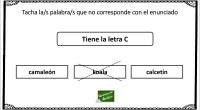 Os presentamos la siguiente actividad de atención a través del reconocimiento de las diferentes letras.
