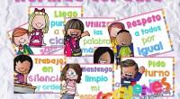 Os dejamos estos fenomenales carteles con las normas de clase ideales para decorar tu aula. Es un recurso de Crayones… Materiales Educativos.