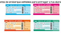 Os dejamos estas sencillas tarjetas de embarque editables con las que puedes recibir a tus alumnos y a sus papás el primer día de clase o en la primera reunión […]
