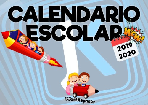 Calendario De 2020 Completo.Completo Y Atractivo Calendario Curso 2019 2020 Orientacion