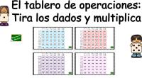 Acabamos de preparar este super juego para repasar y practicar todas las tablas de multiplicar, tememos que tirar dos dados y en un tablero de doble entrada vamos a repasar […]