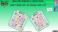 DESCARGA EL BINGO EN PDF Bingo cálculo mental SUMAS Y RESTAS con y sin llevadas AUTORÍA@DES_EDUCANDO https://www.instagram.com/des_educando/