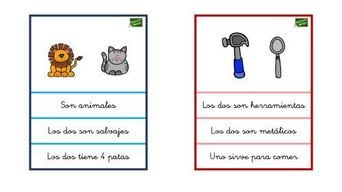Tarjetas Comprensión Lectora Con Dibujos Señala Las Frases
