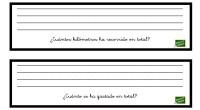 Inventa un problema matemático para la siguientes preguntas DESCARGA LOS PROBLEMAS EN PDF Inventa un problema matemático para la siguientes preguntas