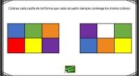 Os dejamos esta sencilla actividad para trabajar la atención y la percepción visual de tal forma que nuestros alumnos deben de colorear cada casilla de tal forma que cada recuadro […]