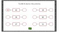 Escribe la decena más próxima. 1.-Aproximación a la decena Aproximar un número a la decena es buscar un número múltiplo de 10 (su última cifra es un cero) que más […]