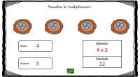 Las siguientes fichas que os hemos preparado están pensadas para facilitar el aprendizaje de las multiplicaciones. Para ello, utilizamos dibujos que actúan como pistas visuales para la realización de las […]
