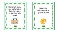 Os comparto esta colección de tarjetas para trabajar la expresión oral a través de divertidas dinámicas. En clase, este tipo de dinámicas promueve las relaciones sociales entre los compañeros y […]