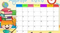 os dejamos estos sencillos calendarios para que os planifiques estos últimos 5 meses del año.   calendarios classroom ago-dic AUTORÍA; https://www.facebook.com/pg/Myclassromtoday