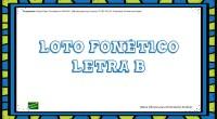 Los juegos didácticos tradicionales de lotos forman parte del material básico de la reeducación logopédica. En nuestro caso os hemos preparado un loto con pictogramas con de la letra «b».