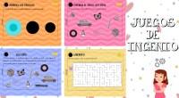 JUEGOS DE INGENIO Se trata de un librito con diferentes actividades para agudizar el ingenio. Hay actividades lógico matemáticas, lengua, agudeza visual… Ideales para divertirse y pasar el rato.