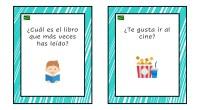 Esta colección de tarjetas es un material pensado para trabajar la expresión oral y la estimulación del lenguaje en aula, pero también es un excelente recurso para romper el hielo […]