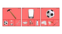 Esta vez realizamos un recurso con imágenes reales, son 54 tarjetas en las que el/la niño/a deberá seleccionar la opción correcta para establecer relaciones semánticas entre dos objetos. Parejas semánticas […]