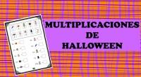Divertida actividad para repasar las tablas de multiplicar. Para ello, deben sustituir el dibujo por el número correspondiente y resolver.