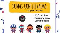 ¡Feliz día!  Comparto con vosotr@sun cuadernillo para trabajar la suma con llevadas. El Capitán América, Spider- Man, Super Girl, Batman y la Capitana Marvel nos acompañarán para iniciar, consolidar […]