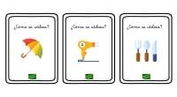 El siguiente material está pensado para trabajar el razonamiento lógico y la estimulación del lenguaje a través de divertidas tarjetas.