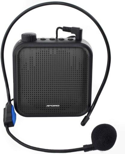 Amplificador de voz para el colegio