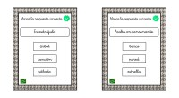 A continuación, os comparto un material para trabajar la competencia lingüística a través del juego. Se trata de una colección de tarjetas en las que aparece un enunciado y el […]