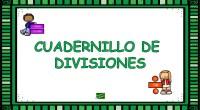La división se utiliza para repartir una cantidad en grupos iguales. Una vez tenemos controladas las sumas y restas, el siguiente paso es aprender a multiplicar y posteriormente a dividir. […]