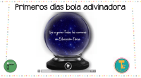 DESCARGA LA BOLA EN PDF Bola adivinadora – Spanish (power point)   AUTORÌA: @teachercrina https://www.instagram.com/teachercrina/