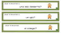 «¿Qué te llevarías a…?» es un divertido juego para trabajar el pensamiento creativo. Se trata de una colección de tarjetas en la que se propone una situación imaginaria y el […]