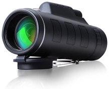 Telescopio Monocular 12X40 con Enfoque Dual Zoom Óptico Impermeable