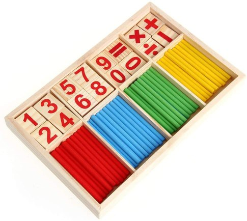 Juguetes educativos de bloques y barras de inteligencia