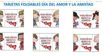 Tarjetas foldables día del amor y la amistad a todo color. Comparto con ustedes estas tarjetas para celebrar el amor y la amistad; escribiendo un pequeño mensaje especial. Espero que […]