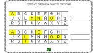 El siguiente ejercicio de trata de una tarea de lectoescritura en la que el alumno debe formar una palabra a partir de las sílabas coloreadas del abecedario. Os dejamos la […]