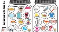 ¡CONCIENCIA FONOLÓGICA! Con estos 14 botes de palabras trabajamos la conciencia fonológica, vocabulario, asociación, atención, descripción. Observamos los objetos, alimentos, animales…que aparecen en los botes y voy identificando por qué […]